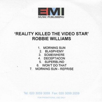 Reality Killed the Video Star